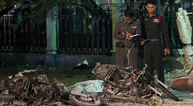 Bangkok bombacısında Türk pasaportu