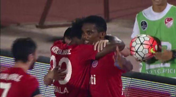 Antalyaspor 3-1 Gençlerbirliği maç özeti izle (Eto'nun golünü izle Video özeti)