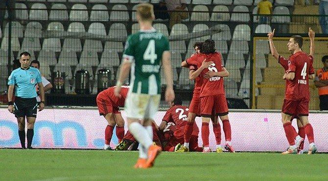 Bursaspor 0-1 Gaziantepspor maç özeti izle