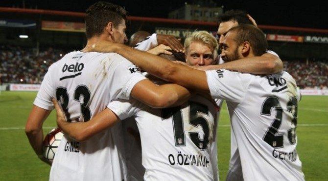 Gaziantep 0-4 Beşiktaş geniş maç özeti izle (Beşiktaş maçı özet Lig TV)