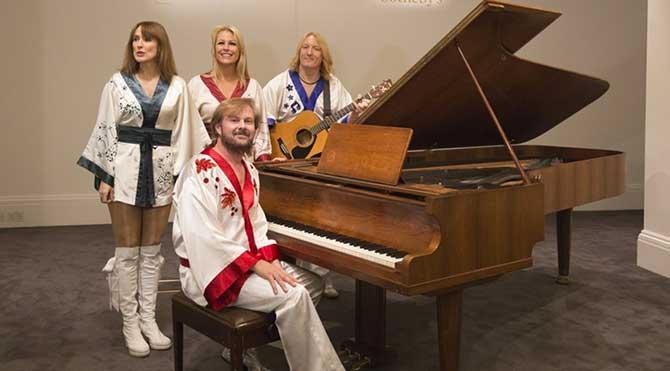 ABBA'nın piyanosu açık artırmada