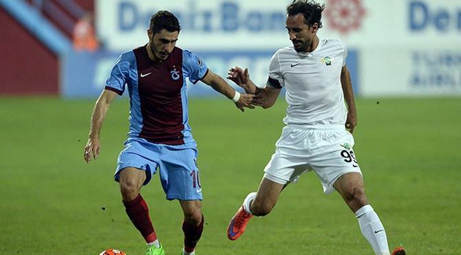 Trabzonspor 2-2 Akhisar Belediyespor maç özeti izle (Trabzon Akhisar maçı)