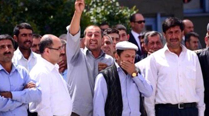Şehit yakını hakaretten tutuklandı