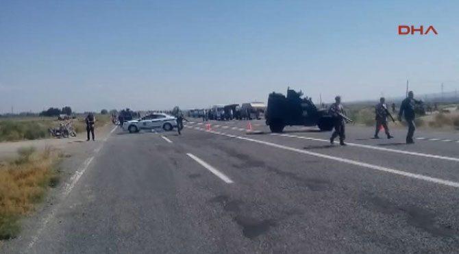 Iğdır'da polis aracına hain saldırı: 13 şehit