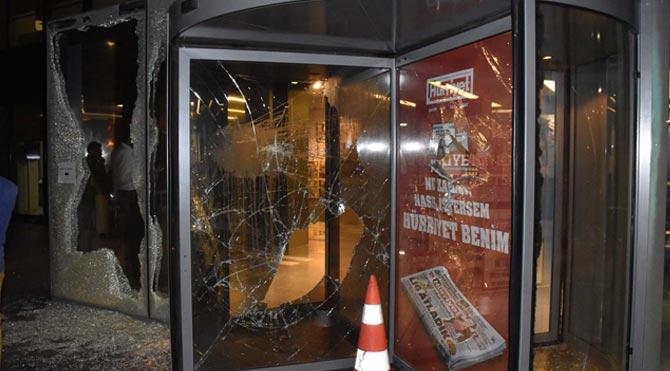 Hürriyet binasına ikinci saldırı!