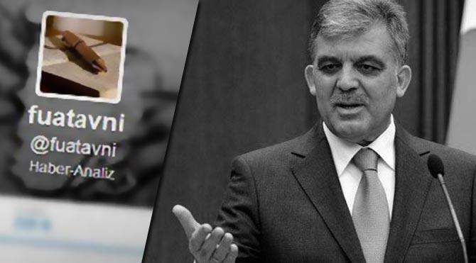 Fuat Avni'den Abdullah Gül iddiası