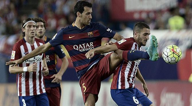 Atletico Madrid Barcelona maç özeti izle: Messi, Barcelona'yı kurtardı!