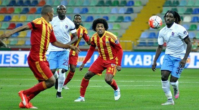 Kayserispor Trabzonspor maç özeti izle