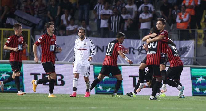 Gençlerbirliği 1-1 Beşiktaş geniş maç özeti izle