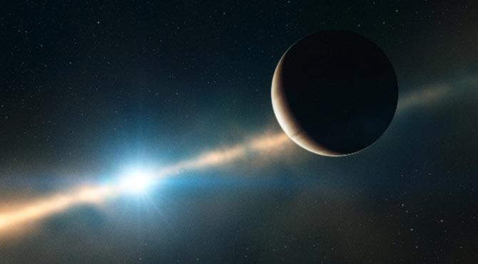 Dünya'ya 63 ışık yılı uzaklıktaki gezegen görüntülendi