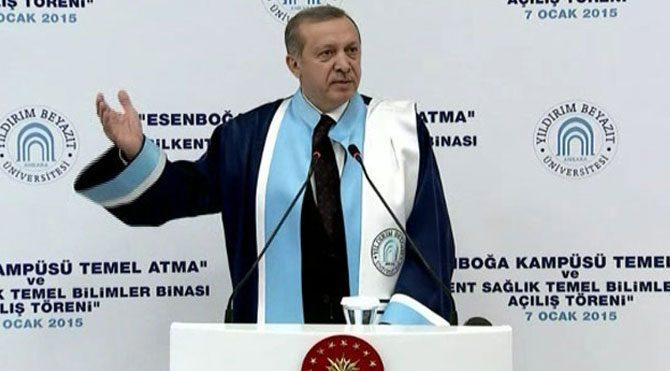 """""""Erdoğan'ın Cumhurbaşkanlığı düşürülsün"""" talebi!"""