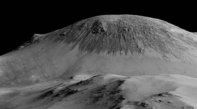 Mars'ta Sıvı Su Bulundu