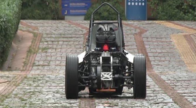 Öğrenciler Yerli Formula aracını tanıttı!