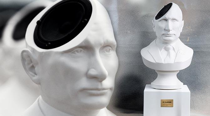 Yeni moda Putin hoparlörleri