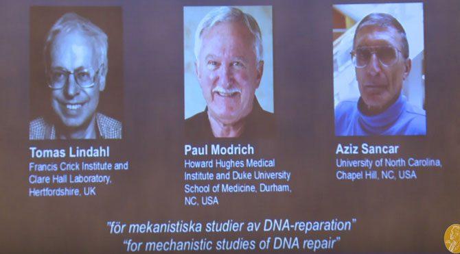 Nobel Kimya ödülünü Aziz Sancar aldı