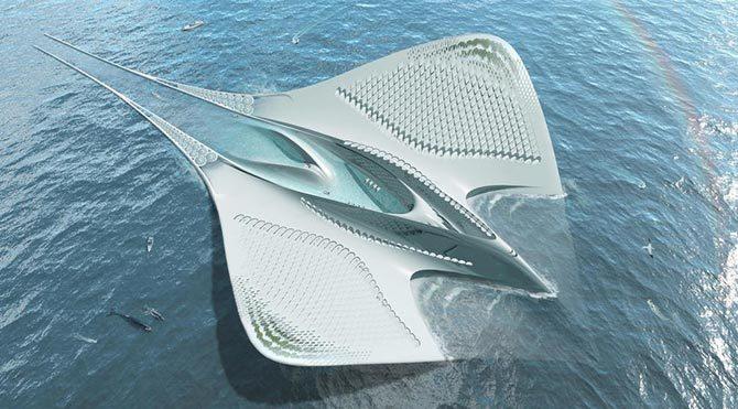 7 bin kişilik yüzen şehir yapılacak