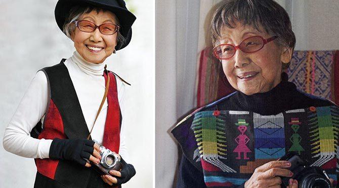 Japonya'nın 101 yaşındaki ilk kadın fotoğrafçısı