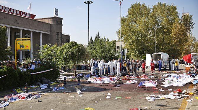 Ankara'da ölü sayısı 97'ye yükseldi!