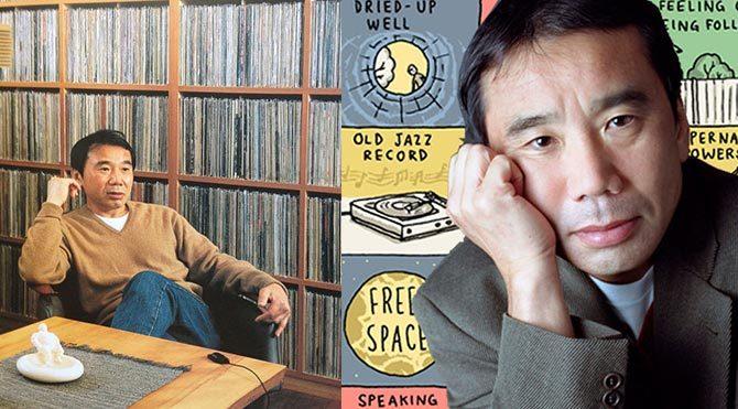 Murakami'nin dev plak koleksiyonu