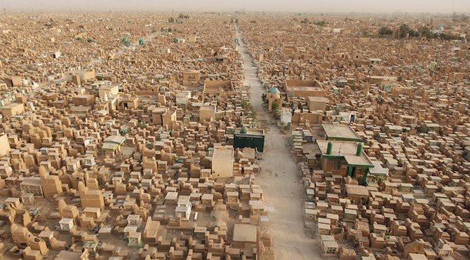 Dünyanın en büyük mezarlığı