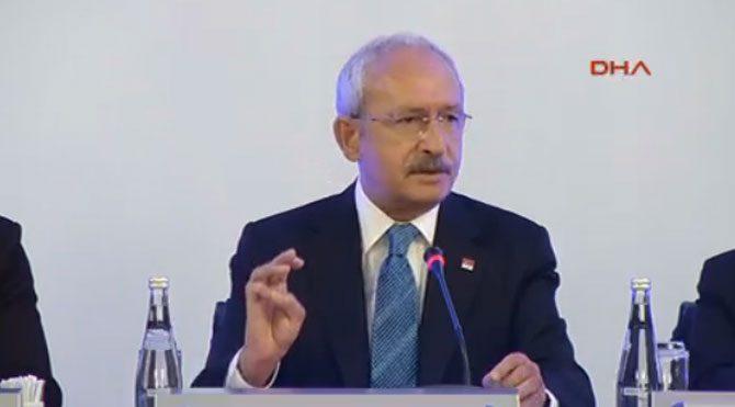 Kılıçdaroğlu TÜSİAD programında konuştu