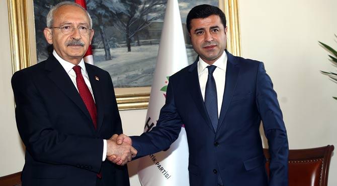 CHP HDP görüşmesi sona erdi