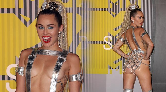 Miley Cyrus'tan çıplak konser çağrısı