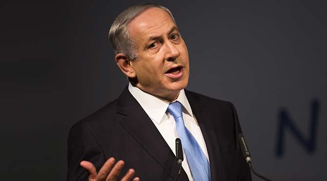 Netanyahu Yahudi soykırımı için Filistin'i suçladı