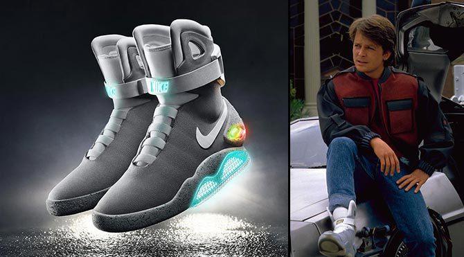 Geleceğe Dönüş'ün efsane ayakkabıları gerçek oluyor