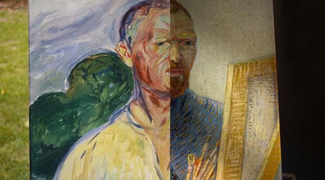 Van Gogh ve Edvard Munch yanyana