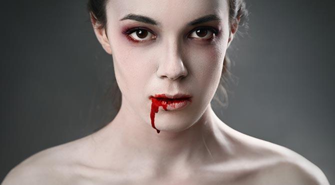 Kan içerek yaşayan gerçek hayat vampirleri