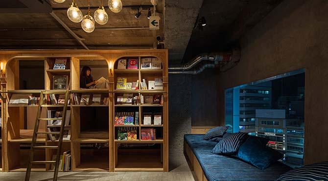 Dünyanın ilk 'kitabevi oteli' açılıyor