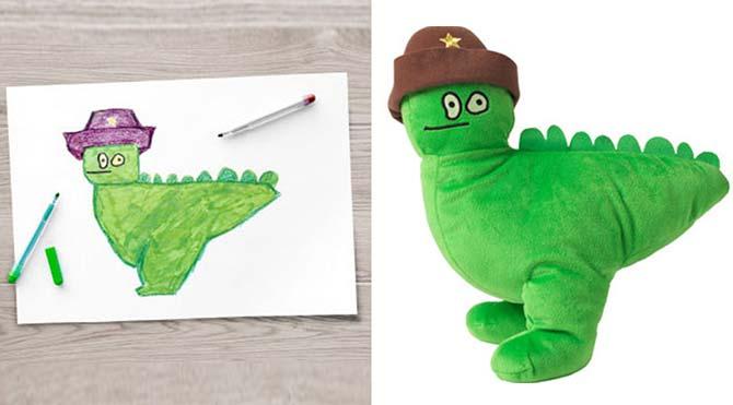 Ikea, 10 çocuğun hayalini 'oyuncağa' dönüştürdü