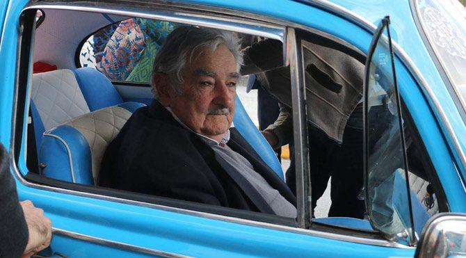 Jose Mujica İstanbul'a geldi