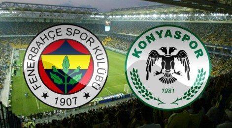 Lig TV izle - Fenerbahçe Torku Konyaspor maçı canlı izle
