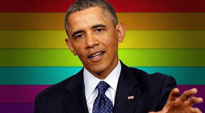 Obama LGBT dergisine kapak oldu