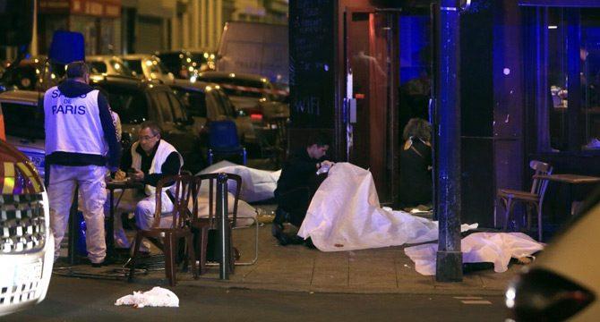 Paris'te kanlı gece! Terör saldırısı…