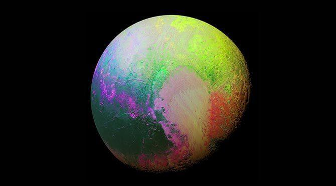 NASA'dan saykedelik Plüton