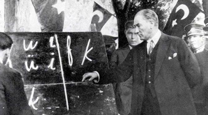 Başöğretmen Mustafa Kemal Atatürk ve 24 Kasım