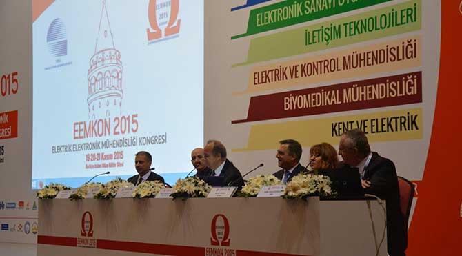 Binlerce mühendis EEMKON 2015'de buluştu