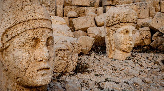 Nemrut'un heykelleri korumaya alındı