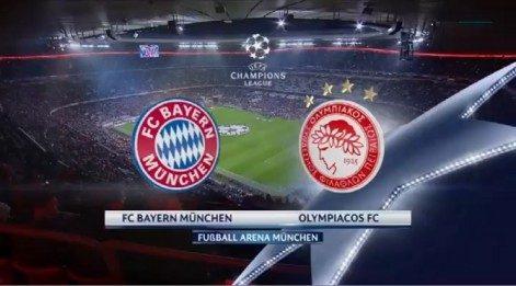 Bayern Münih 4-0 Olympiakos maç özeti izle