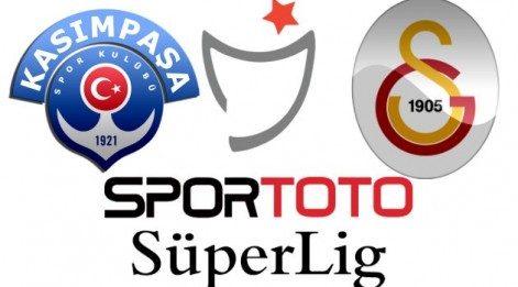 Kasımpaşa Galatasaray maçı canlı izle - Lig TV izle