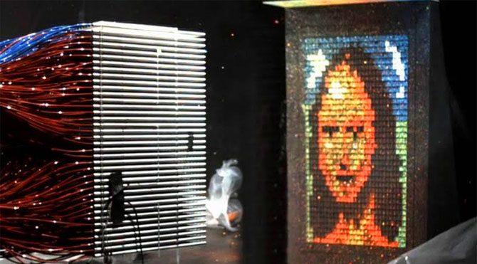 80 saniyede 'Mona Lisa ' figürü