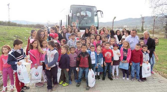 Köy okulunun yardım çağrısı karşılıksız kalmadı