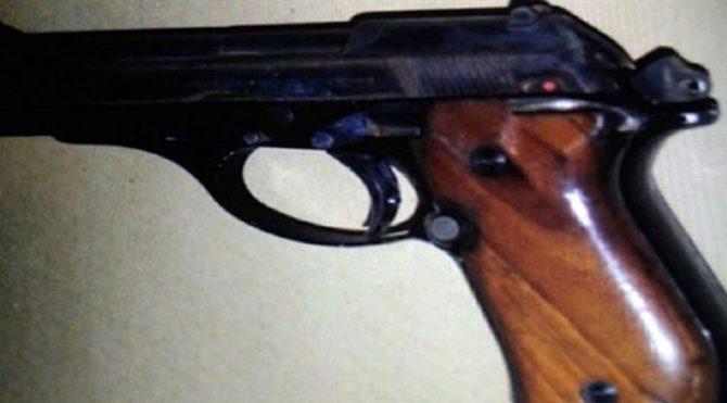 Adliyede bulunan silaha ilişkin bir gözaltı!