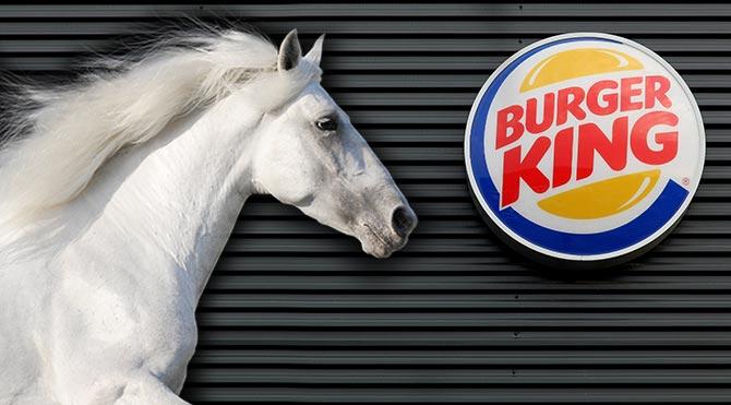 Burger King, ürünlerinde at eti olduğunu itiraf etti