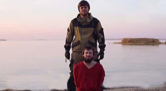 IŞİD ilk kez bir Rus ajanı infaz etti