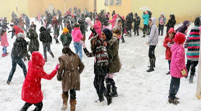 Altı ilde okullar bugün de tatil edildi!