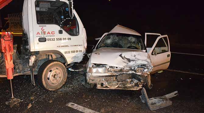 Ankara'da kaza: 5'i ağır, 10 yaralı